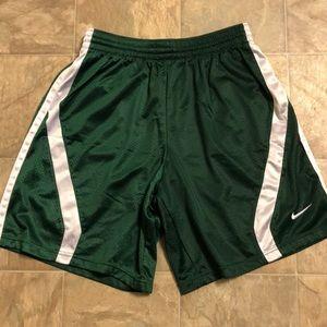 Nike basketball shorts, worn once